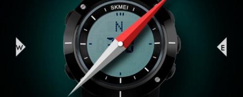 Инструкция к часам Skmei Kompass (1216, 1231, 1232)
