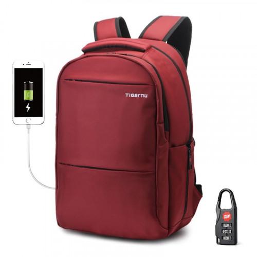 """Рюкзак Tigernu T-B3032D 15.6"""" USB Red"""