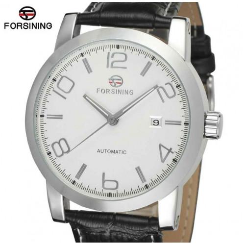 Механические часы Forsining Boss White