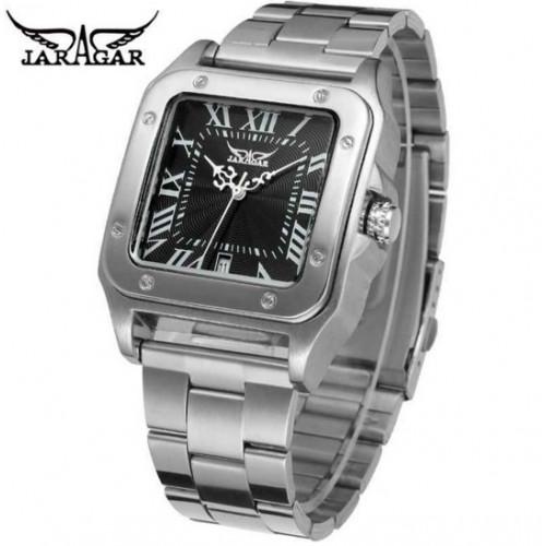 Механічний годинник прямокутної форми  Jaragar Exstra
