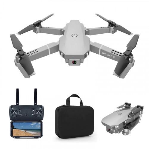 Квадрокоптер RC Drone 2 E68 с 4K и HD камерами, FPV, оптическое позиционирование + кейc