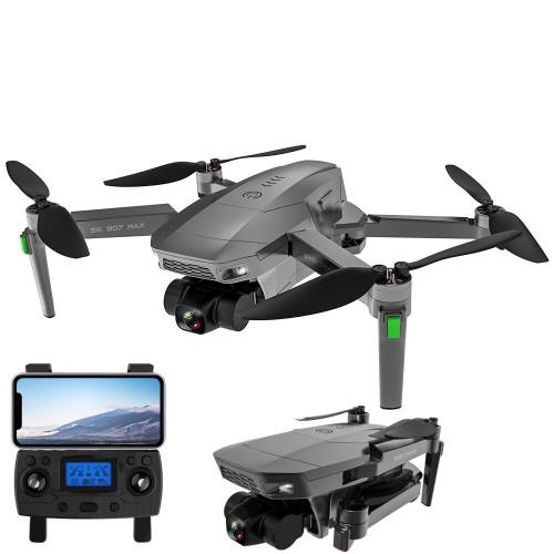 Квадрокоптер SG907 MAX с GPS, камера 4К из 3-х осевой стабилизацией, БК моторы, время полета до 25 м