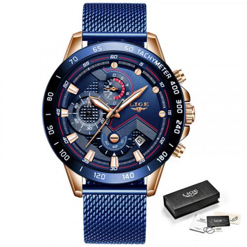 Чоловічий годинник LIGE 9929
