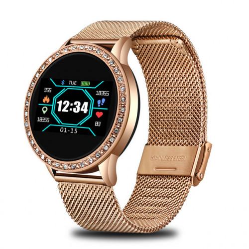 Женские смарт часы Lige Holiday Gold