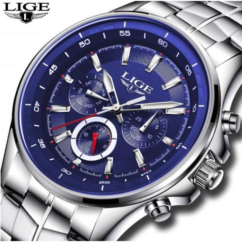 Классические мужские часы LIGE Faril