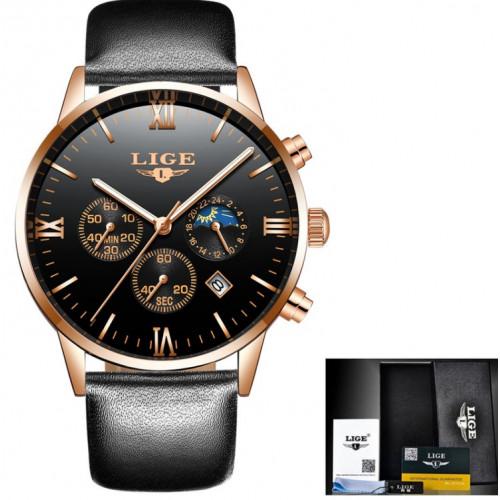 Классические часы LIGE Digit