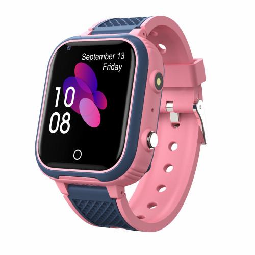 Детские смарт часы-телефон Lemfo LT21 Pink с GPS и поддержкой 4G