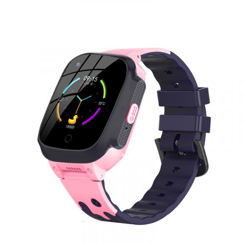 Детские смарт часы-телефон Lemfo LT25 Pink с GPS и поддержкой 4G