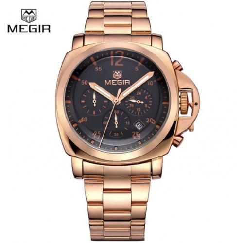 Классические часы Megir Luminor VIP Gold