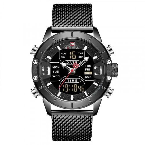 Часы мужские Naviforce 9153 Tesla Black