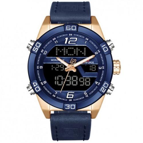 Чоловічий годинник Naviforce Legion 9128 Blue