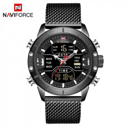 Naviforce Tesla Black NF9153