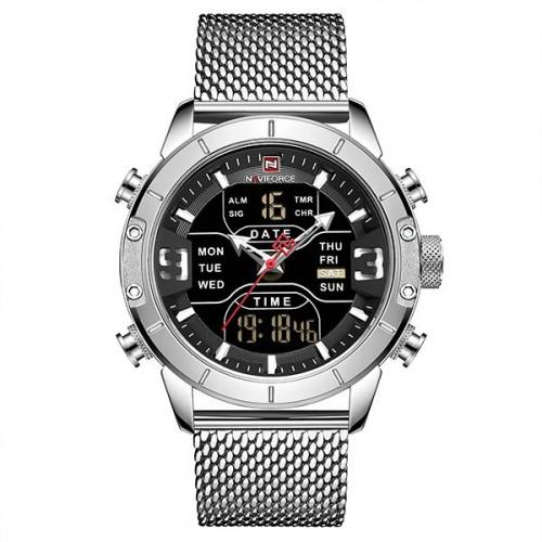 Часы мужские Naviforce 9153 Tesla Silver