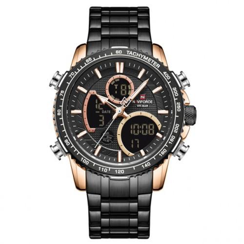 Мужские часы Naviforce Fire 9182 Black