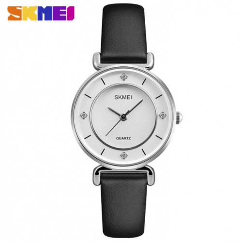 Женские часы Skmei Batterfly 1330 (Silver)