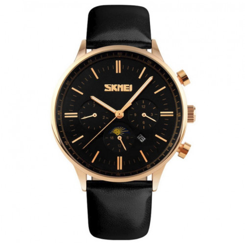 Skmei 9117 Black Gold