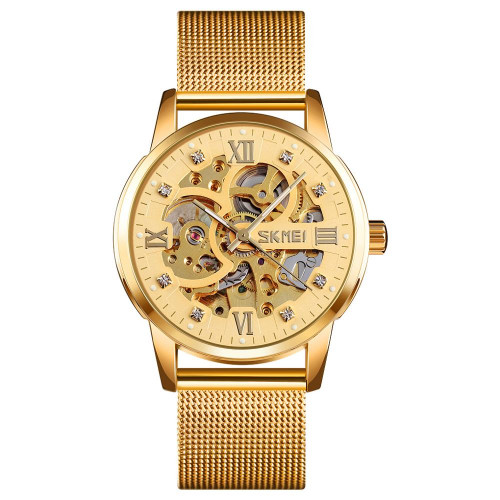 Skeleton Skmei 9199 Gold