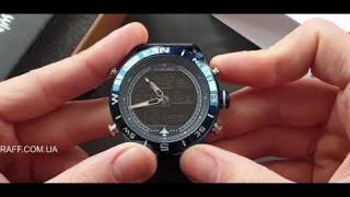Мужские наручные часы Naviforce 9144 Blue обзор, настройка
