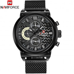 Naviforce Brutto Black
