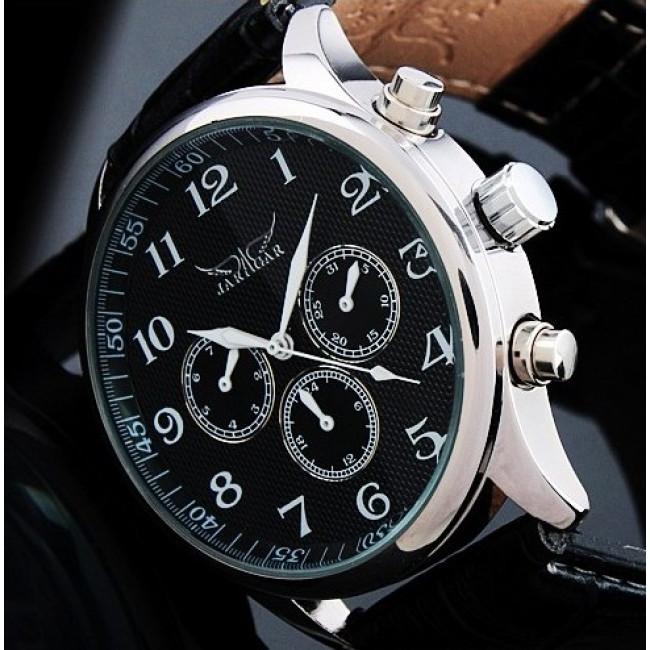 Чоловічий механічний годинник Jaragar Elite. Купити годинник Jaragar ... 8bc5f2f7e9126