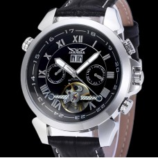 Чоловічий годинник Jaragar Turboulion Silver