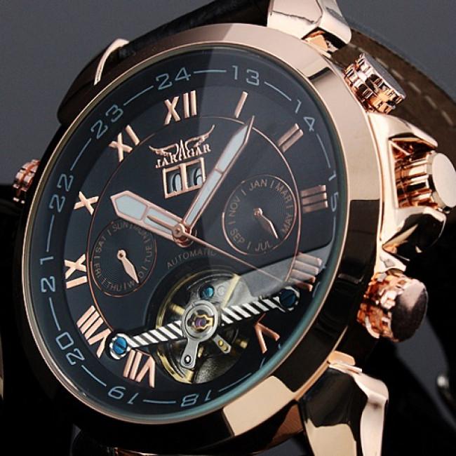 Чоловічий механічний годинник Jaragar Turboulion. Купити годинник ... 75e83d73ff58d