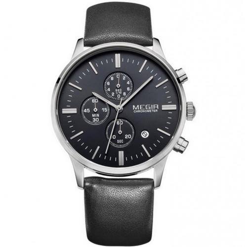 Мужские часы Megir Silver