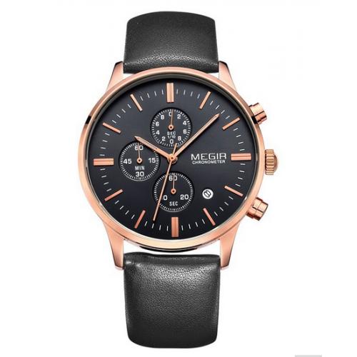 Мужские часы Megir De Luxe