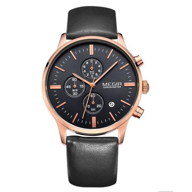 Чоловічий годинник Megir De Luxe. Купити годинник Megir De Luxe в ... b690732f98196