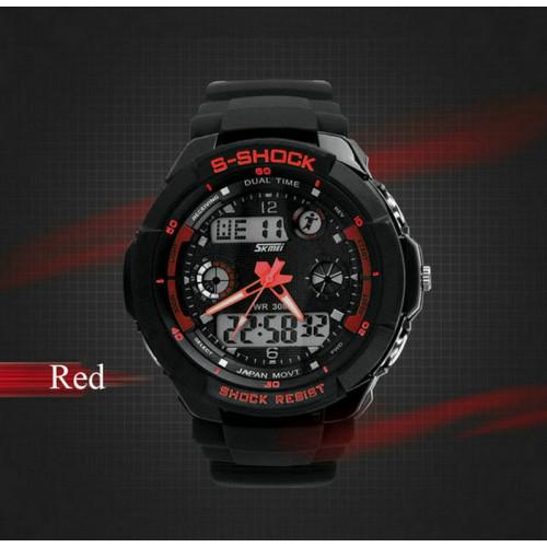 Спортивные часы Skmei S-Shock Red